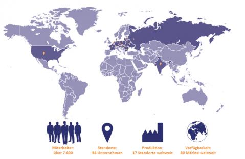 TZMO Unternehmensgruppe Karte